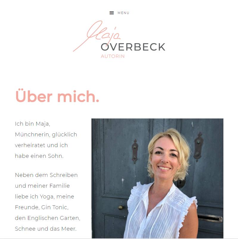 Maja Overbeck, Autorin